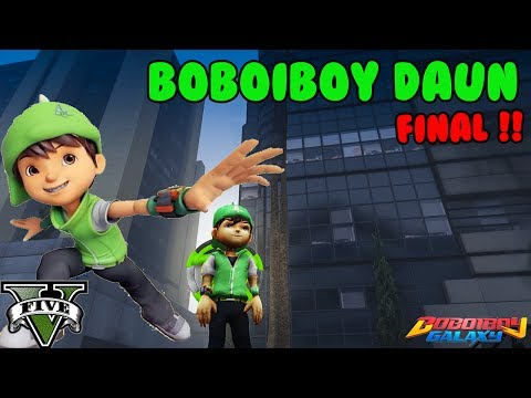 BOBOIBOY DAUN  - GTA 5 INDONESIA MANTAP!!