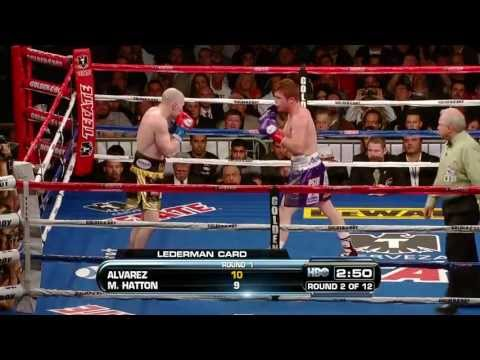 Saul Alvarez vs. Matthew Hatton / Канело Альварес - Мэтью Хаттон
