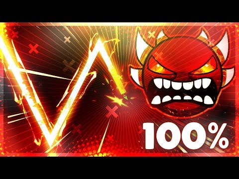 Invisible Sakupen Hell 100% | Geometry Dash (2.1)