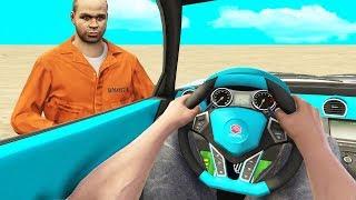 Prison Escapee Asks For A Ride.. (GTA RP)