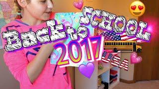 Back to school США! Что я купила для школы 2017/ Канцелярия США :)