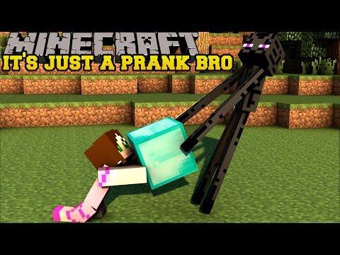 Minecraft: IT'S JUST A PRANK BRO! (SHEEP FOUNTAIN, FAKE DIAMONDS, & TELEPORT DIRT) Custom Command