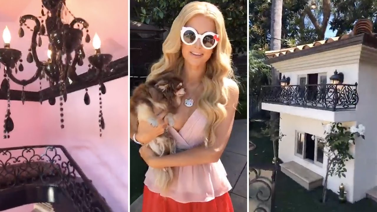 Download Paris Hilton Buys $260,000 Mansion For Her Dogs To Sleep In