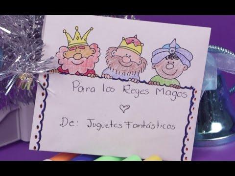 La CARTA para los REYES MAGOS en JUGUETES FANTASTICOS