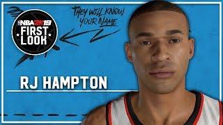 RJ Hampton Oluşturma (Sürüm 2)2K19 NBA -