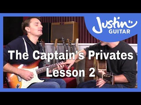 The Captain's Privates: Lesson 2. Lee's 1...