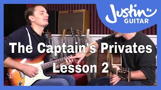 The Captain's Privates: Lesson 2. Lee's 1 on 1 lessons with Justin