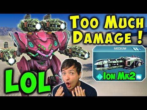 Too Much Firepower! ION SPECTRE Mk2 Maxed War Robots Gameplay WR