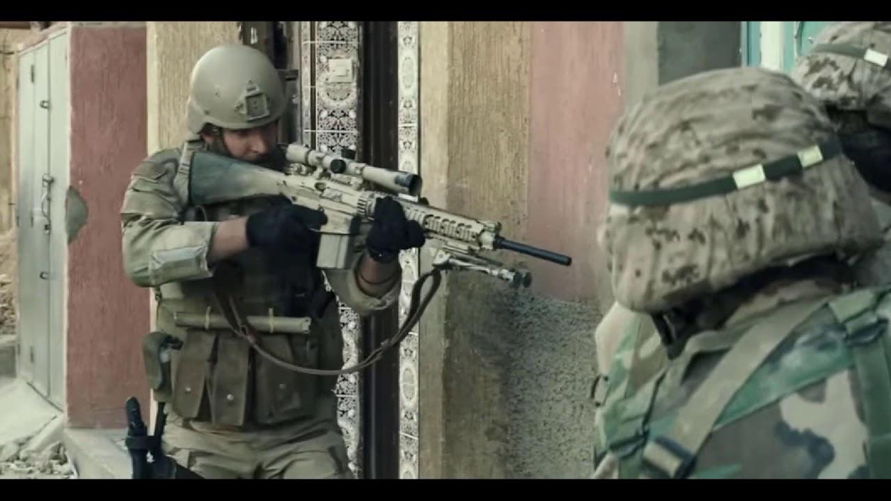 American Sniper - Breach Scene