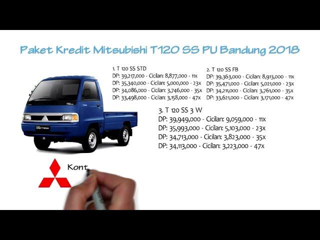 Kredit Mitsubishi T120SS Pick Up Bandung Oktober 2018 | 0811229295