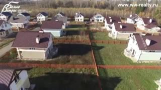 Прилесный коттеджный поселок Ново-Шарапово - съемка с воздуха(, 2015-12-10T10:49:32.000Z)