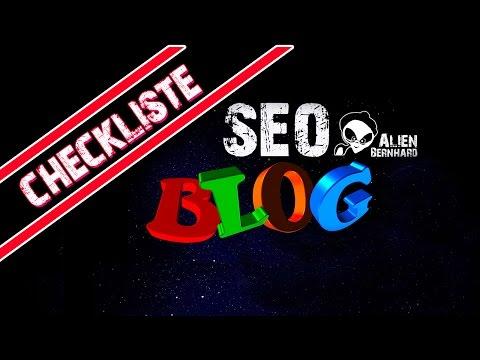 SEO Checkliste und SEO Grundlangen für Deinen Blog