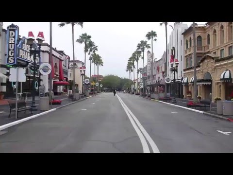 Universal Studios Orlando Florida Quiet Times