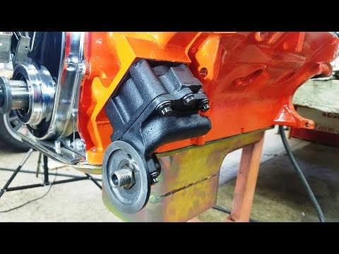 440 chrysler mopar engine building part 7 oil pump cleaning and440 chrysler mopar engine building part 7 oil pump cleaning and installation