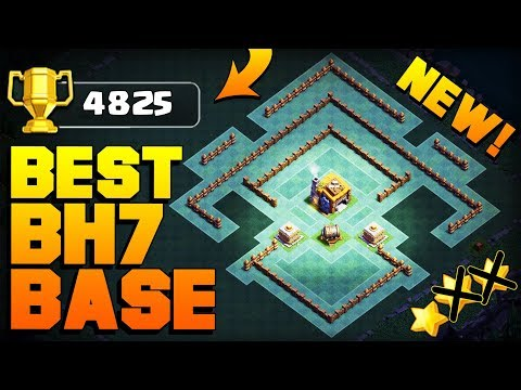 BEST Builder Hall 7 Base w/ PROOF!! | CoC BH7 GIANT CANNON Update Base! | Clash of Clans