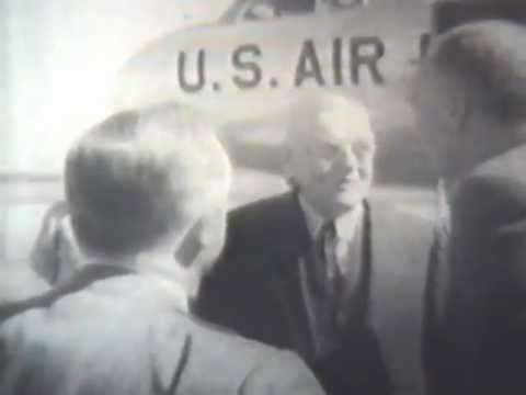 Opening Dedication Ceremony of Dulles International Airport - 1962