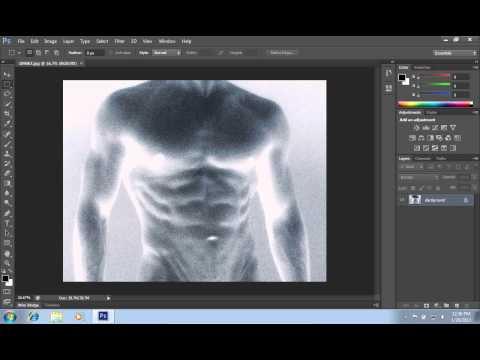 How to Make Positive from Negative in Photoshop CS6
