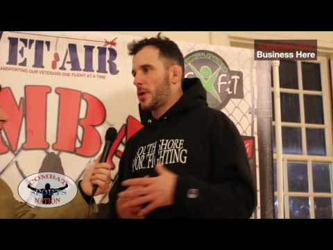 Cage Titans FC 33: Post Fight with Jim Manning - 100%, absolutely I am going to get that title