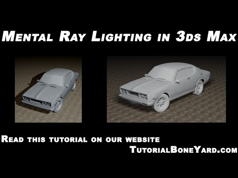 3ds Max Lighting Tutorial