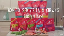 How to Feed Stella & Chewy's Frozen Raw Patties Dog Food