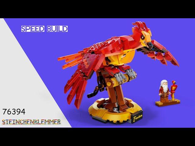 76394 Fawkes, Dumbledores Phönix | Speed Build
