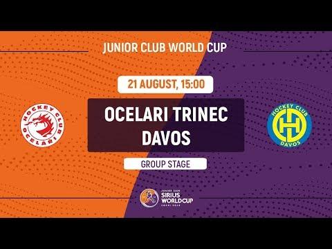 Junior Club World Cup 2018. Ocelari Trinec – Davos (U20)
