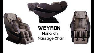 Massage Chair - WEYRON MONARCH Massage Chair - Best Massage Chairs UK - Features Review