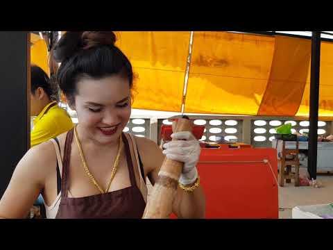 ส้มตำแซ่บสูตรอุบล..เจ้เปียตำนมระเบิด เพชรบุรี ขายดีตั้งแต่เช้ายันค่ำ ส้มตำ ยำแซ่บ Papaya Spicy Salad