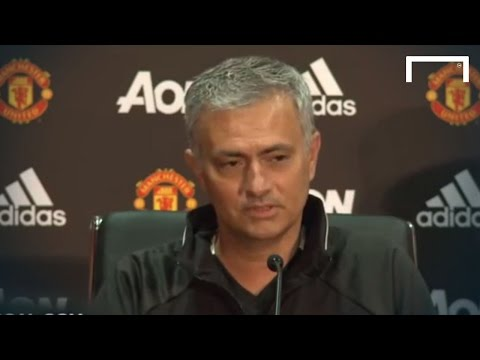 Mourinho's first full press conference as Man United manager