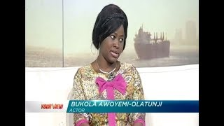 I Asked God For My Husband - Bukola Awoyemi | Damola Olatunji | Your View 2nd Nov. 2018