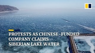 Russians fight Chinese-funded bottling plant at Siberia's Lake Baikal thumbnail