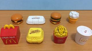 1990 McDonald's MCDINO CHANGEABLES Happy Meal Kids toys 麥當勞經典玩具