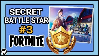Fortnite Secret Battle Star Loading Screen #3 Location | Ready for Takeoff - Snowfall Challenges