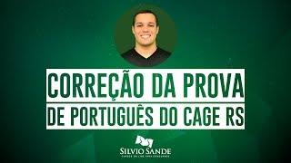 [CORREÇÃO CAGE RS] Português com Pedro Henrique