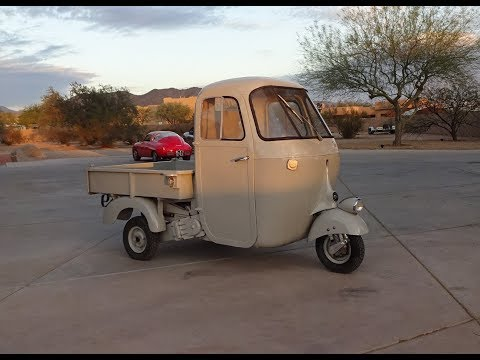 1946 Piaggio Ape Utility Truck Prototype Vin # 1 aka Tuk Tuk on My Car Story with Lou Costabile