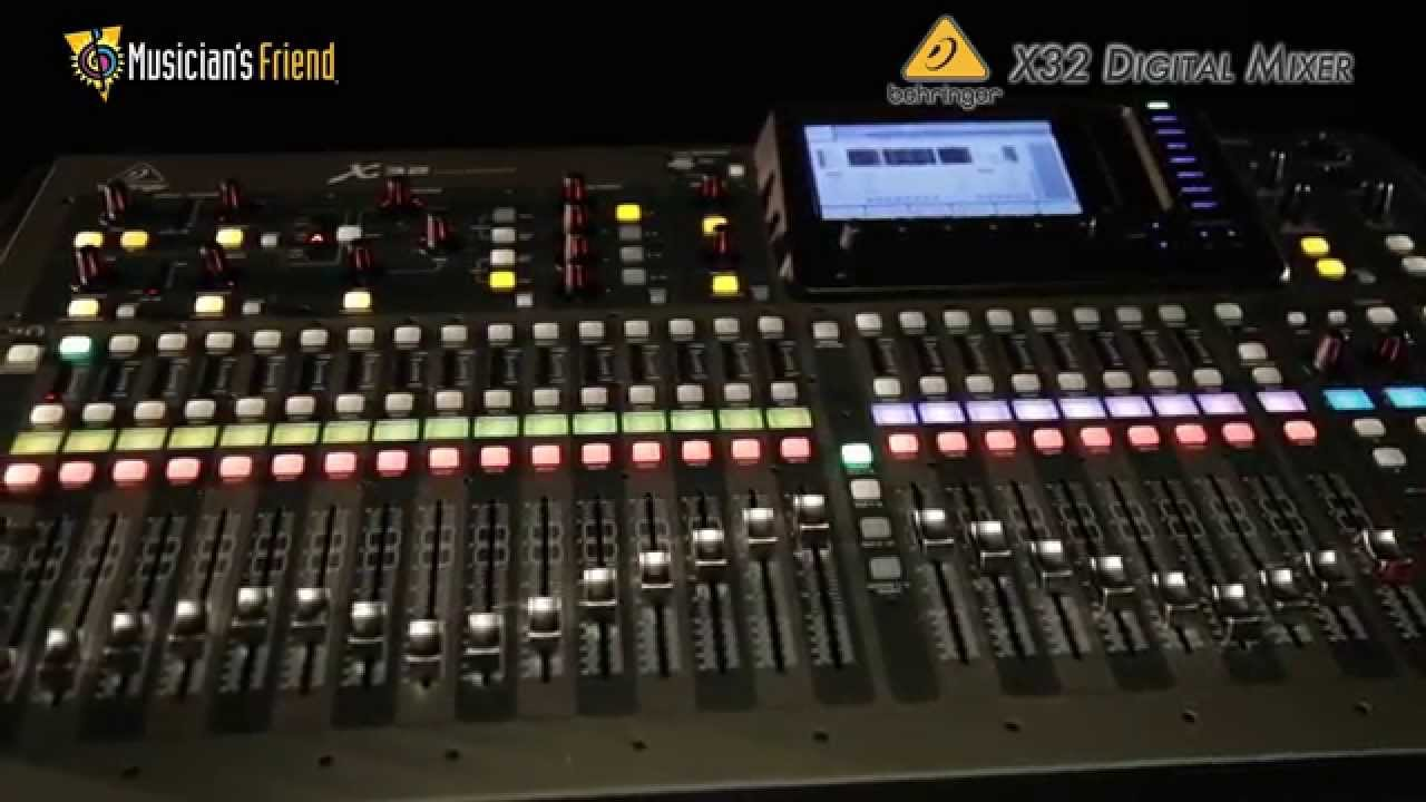 behringer digital mixer x32 youtube. Black Bedroom Furniture Sets. Home Design Ideas
