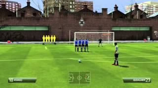 Как бить штрафные удары в FIFA 14(Не умеете забивать со штрафных ударов в FIFA 14? Тогда вам сюда, смотрите мое обучение. Ставим лайки, рассказыв..., 2013-10-13T15:01:16.000Z)