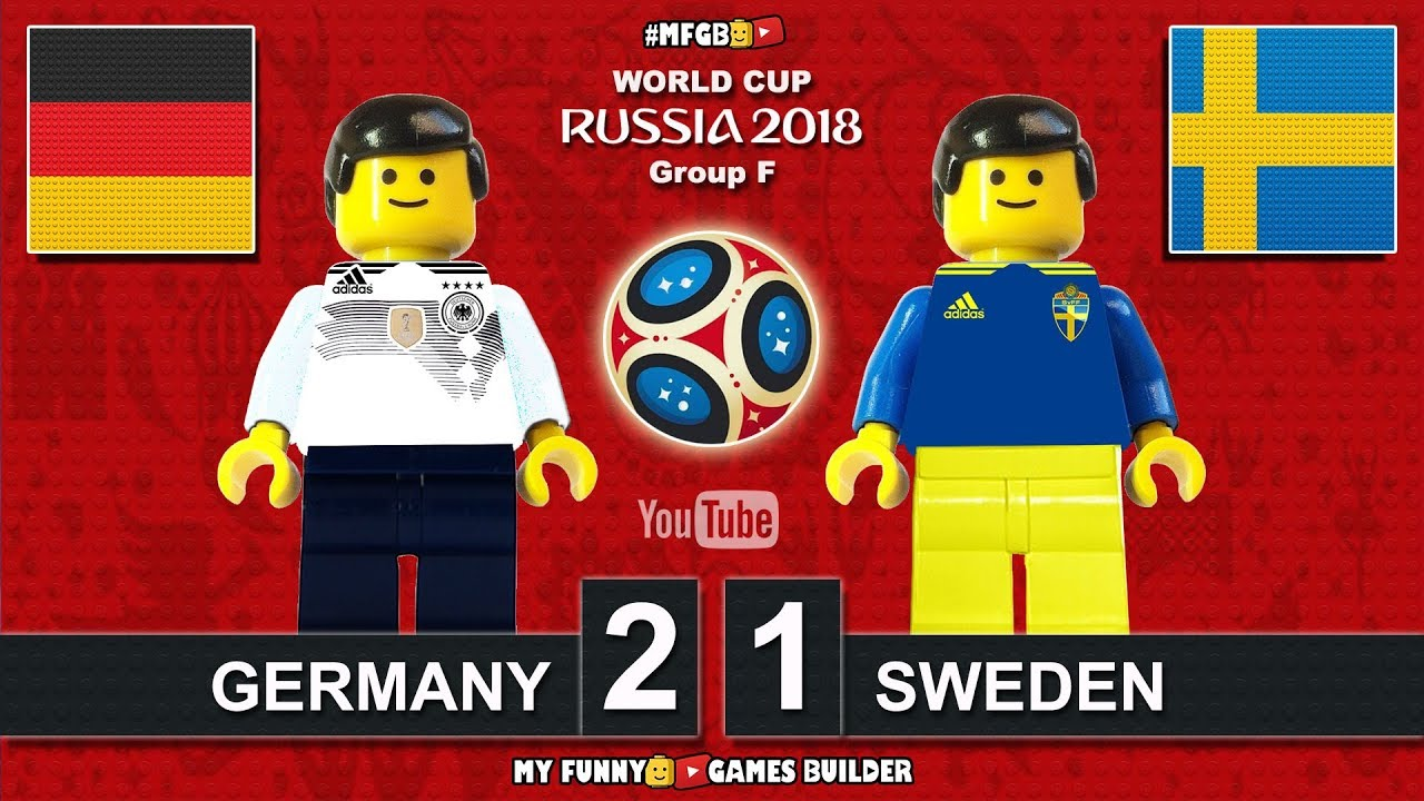Download Germany vs Sweden 2-1 • World Cup 2018 • All Goals Deutschland Schweden Highlights Lego Football