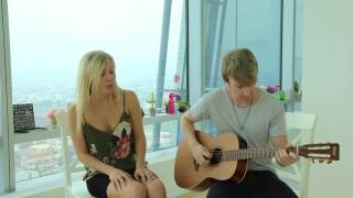 The Chainsmokers & Coldplay - Something Just Like This /Covered by Ksenia Valenti and Jeremy Bieber
