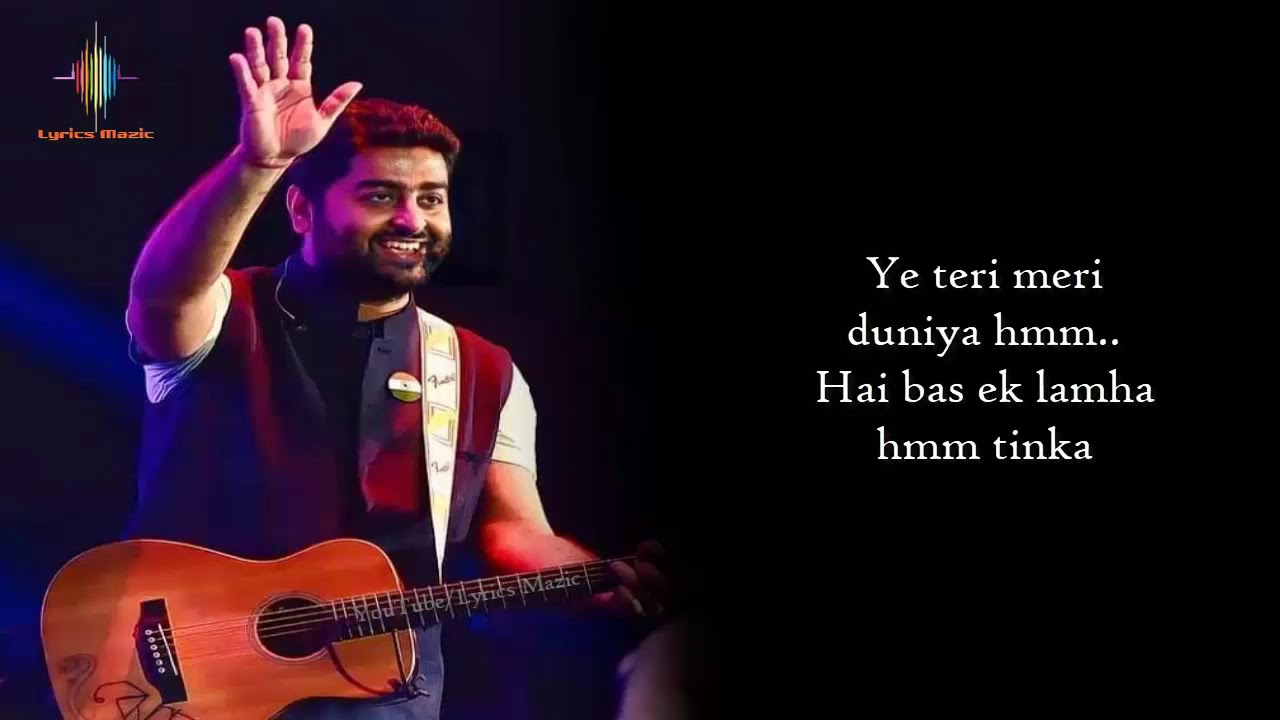 Download Lamha Lyrics - Arijit Singh | Antara Mitra | Neelesh Misra | Netflix India | Pagglait | LM