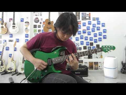 Music Man JP6 John Petrucci Siganture Guitar Clean Sound