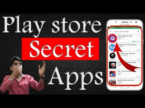 TOP SECRET APPS Of GOOGLE PLAY STORE - SECRET APPS FOR ANDROID!