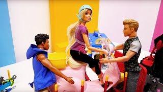 Новый Скутер Барби - Видео для девочек