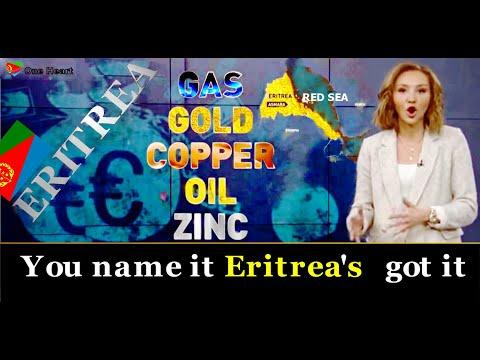 Gas, Gold, Copper, Oil, Zink, You name it Eritrea's got it