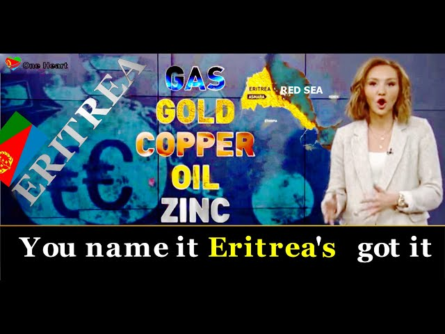 Gas, Gold, Copper, Oil, Zink, You name it Eritrea's got it