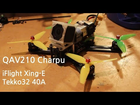 Фото Making an Old FPV Drone Great Again - QAV210 Charpu