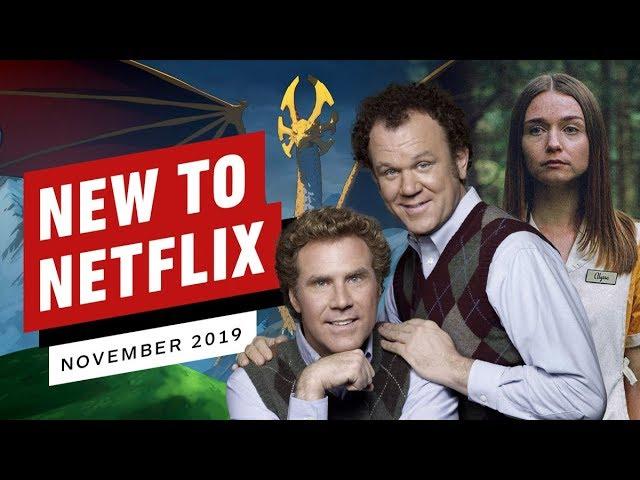 Nuevo en Netflix para noviembre de 2019 + vídeo