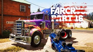 SEMI TRUCK WITH MACHINE GUNS - Far Cry 5 - Part 16 (Let's Play / Walkthrough / PS4 Pro Gameplay)