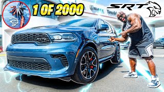 I BOUGHT A 2021 HELLCAT DURANGO (1 OF 2000 MADE)