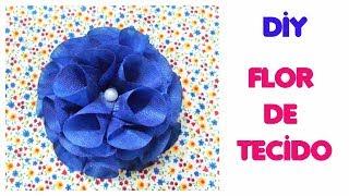 Flor de tecido – Fácil de fazer